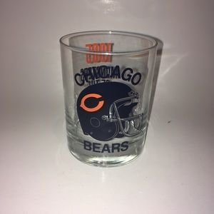 NFL Chicago Bears vintage drinking glass